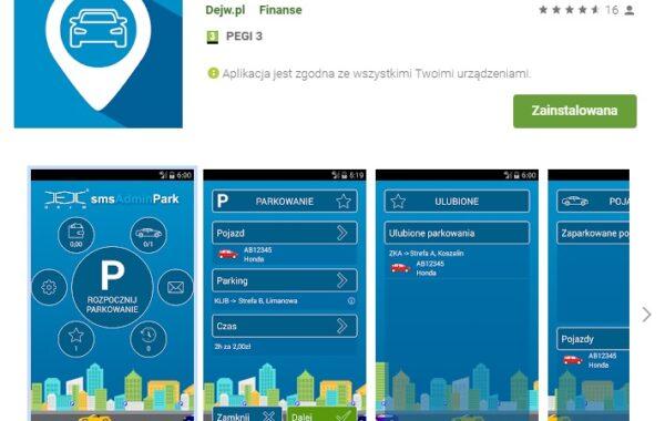 Płatności mobilne za parkowanie